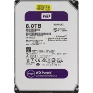 Жёсткий диск Western Digital HDD 8 TB WD80PURZ