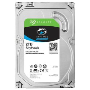 Жесткий диск Seagate SkyHawk HDD 2 TB 5900rpm ST2000VX008